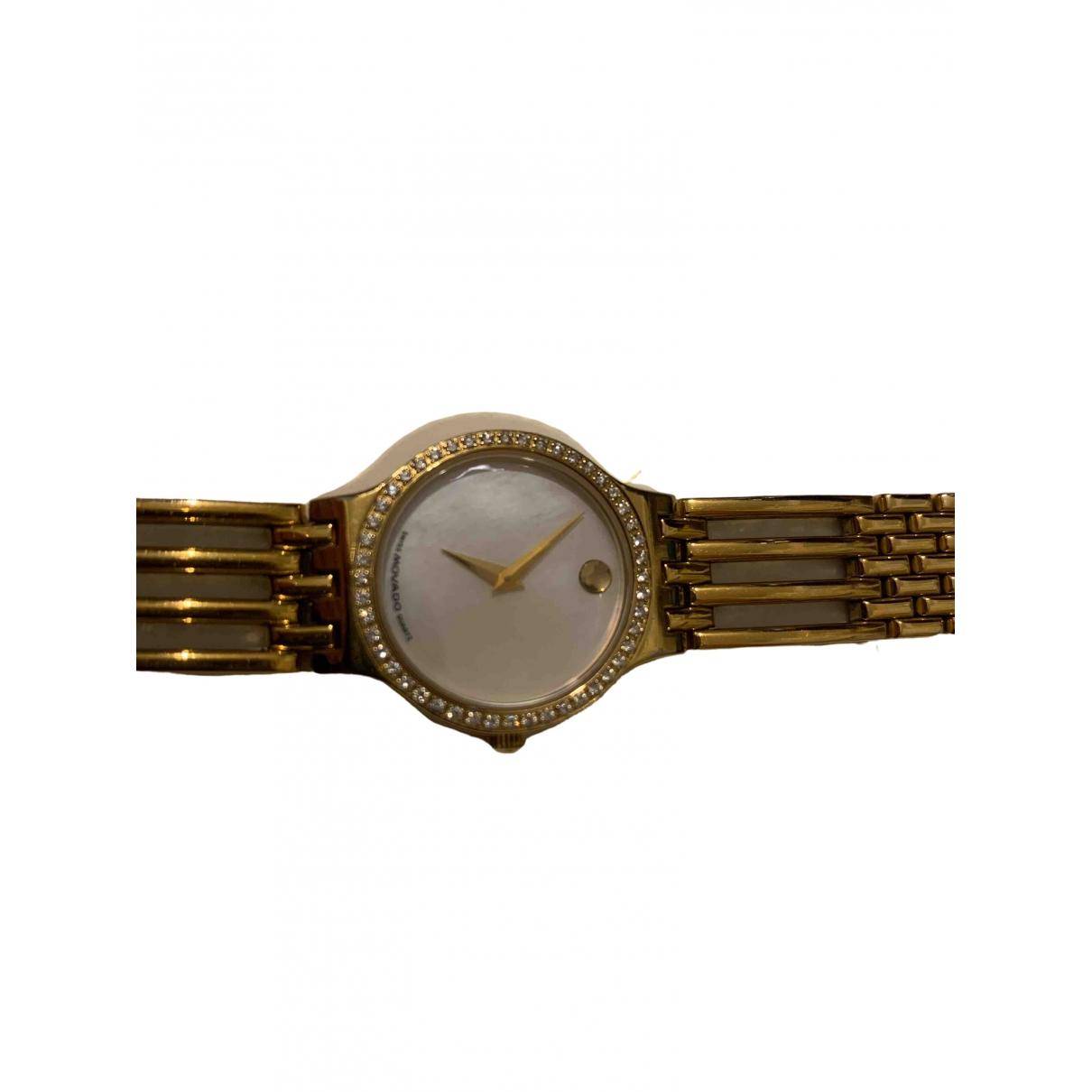 Movado \N Uhr in  Gold Vergoldet