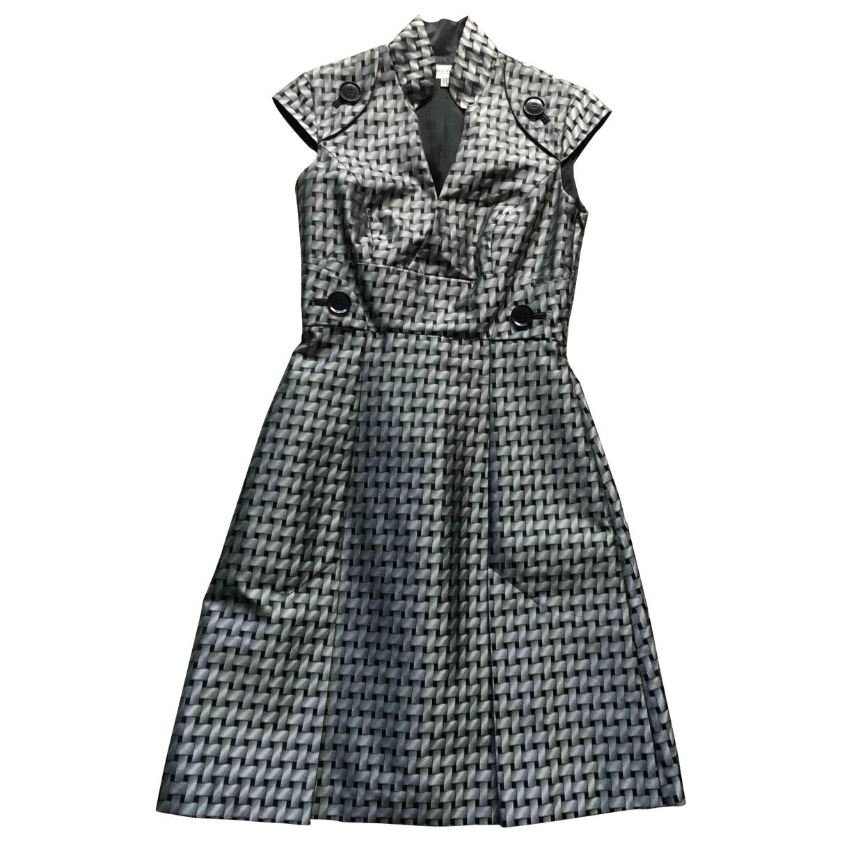 Karen Millen \N Kleid in  Silber Polyester