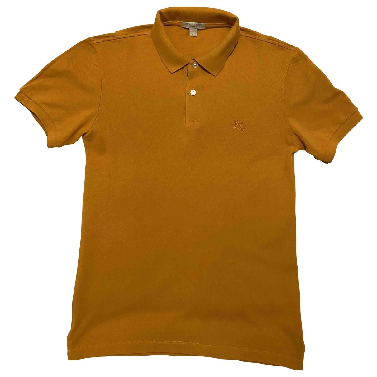 Burberry \N Poloshirts in  Orange Baumwolle