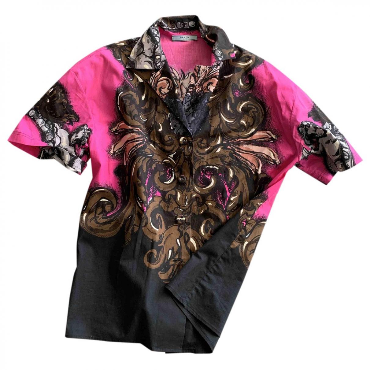 Prada \N Multicolour Cotton  top for Women 42 IT