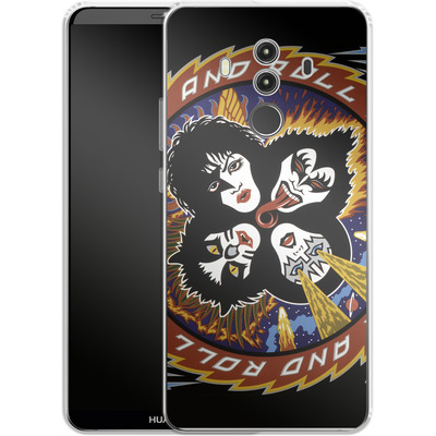 Huawei Mate 10 Pro Silikon Handyhuelle - Rock And Roll Over von KISS®