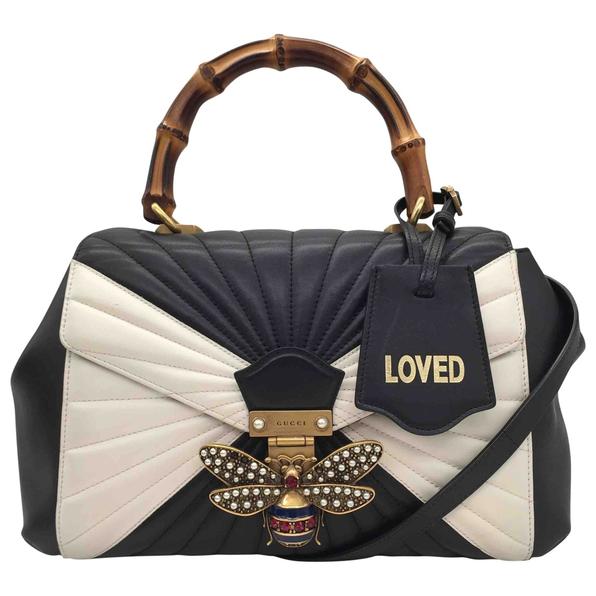 Gucci Queen Margaret Black Leather handbag for Women \N
