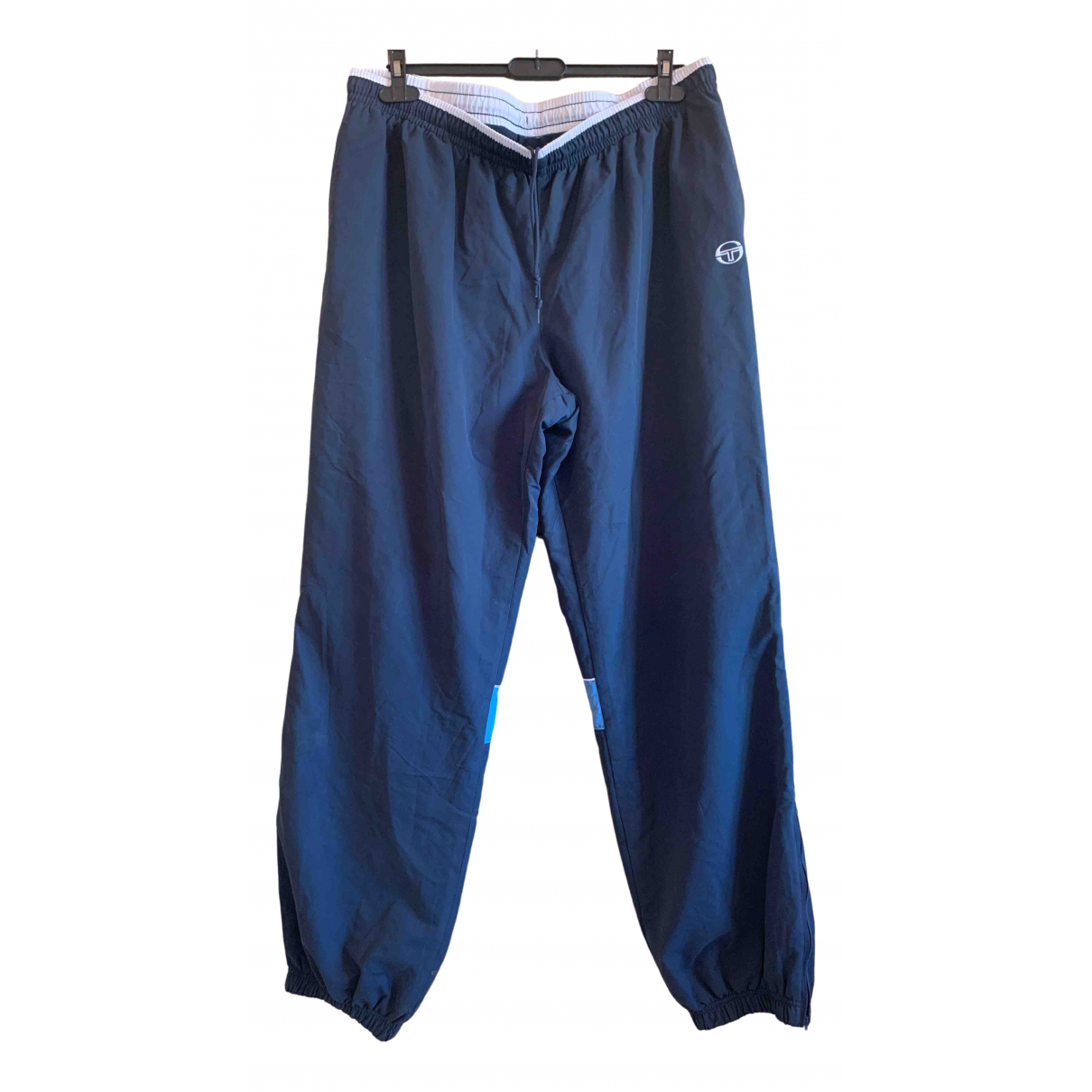 Pantalones en Poliester Azul Sergio Tacchini