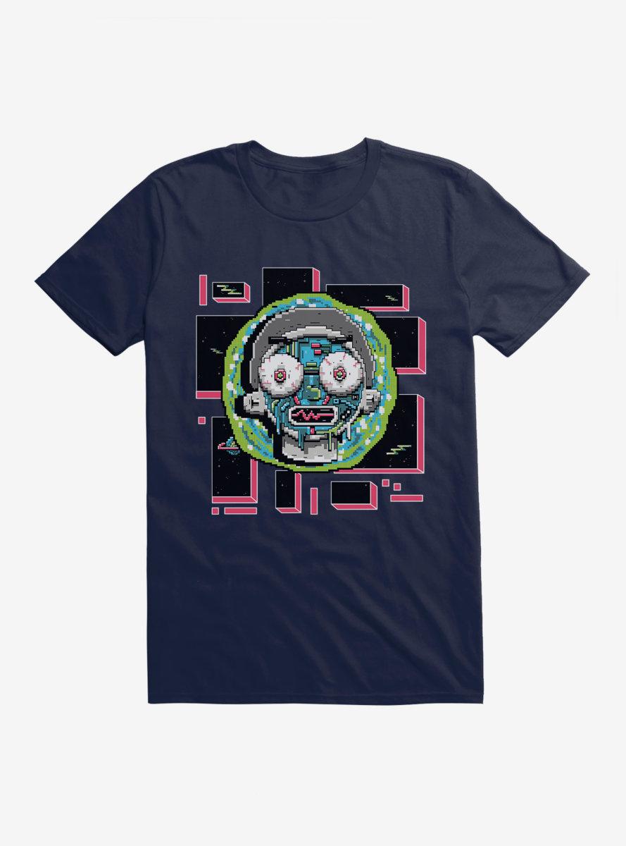 Rick And Morty 8-Bit Universe Morty T-Shirt