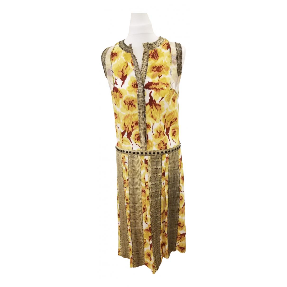 Bottega Veneta - Robe   pour femme - jaune