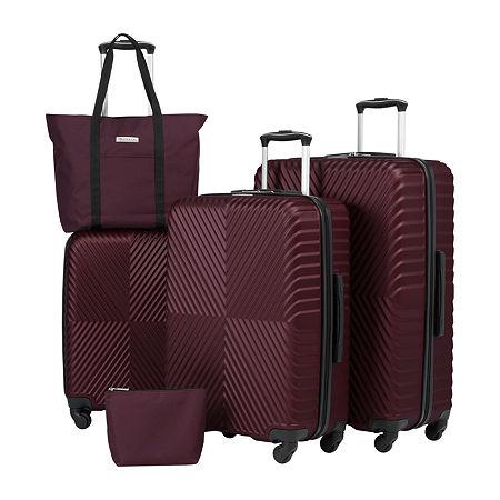 Protocol Logan 5-pc. Hardside Luggage Set, One Size , Purple