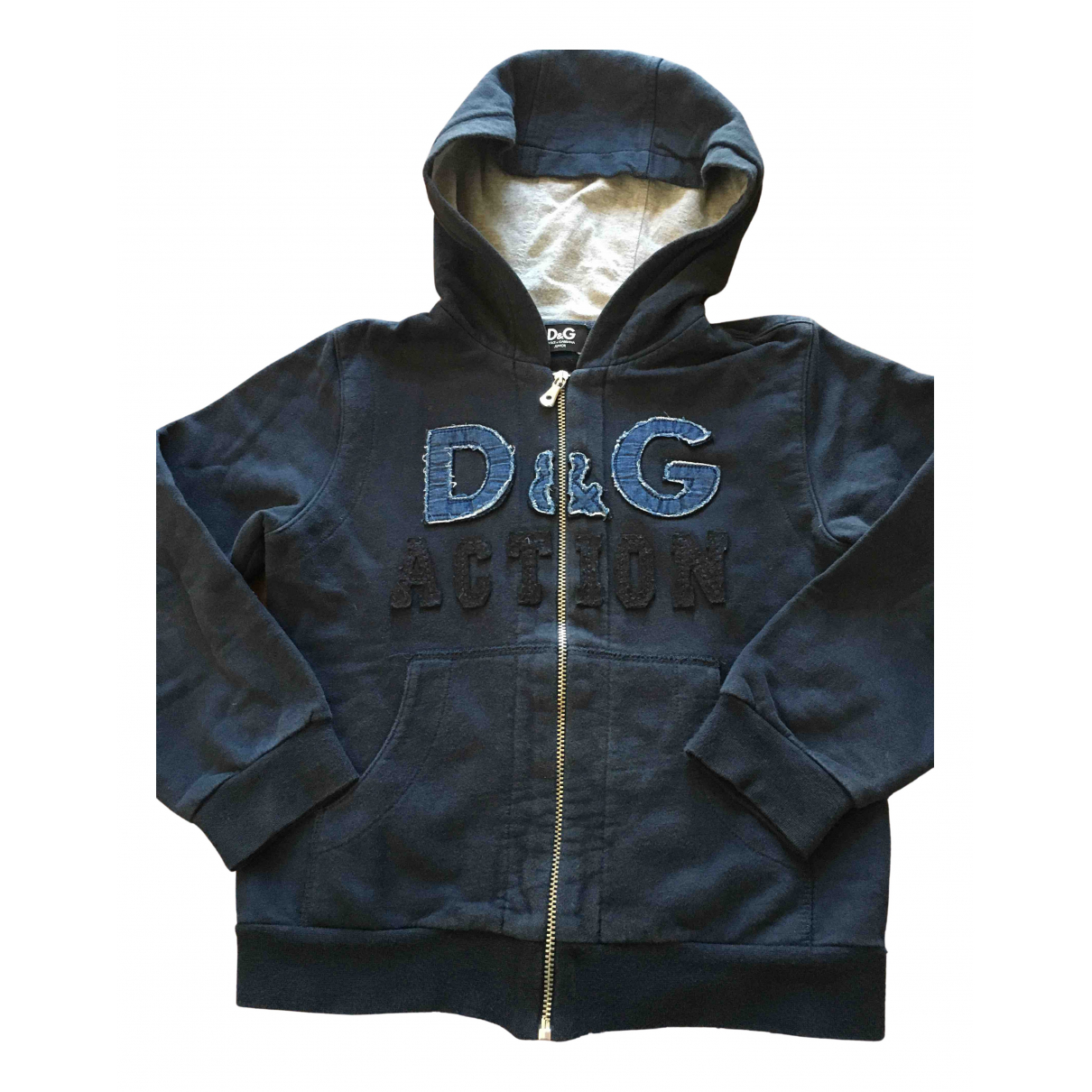 D&g N Blue Cotton Knitwear for Kids 5 years - up to 108cm FR