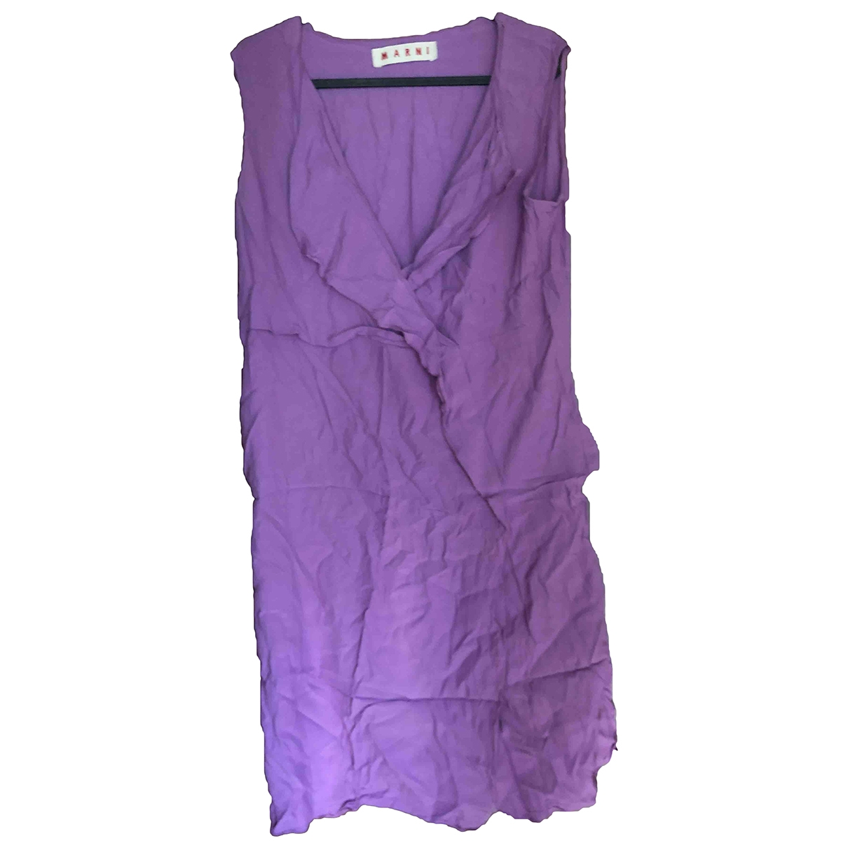 Marni \N Purple dress for Women 44 IT