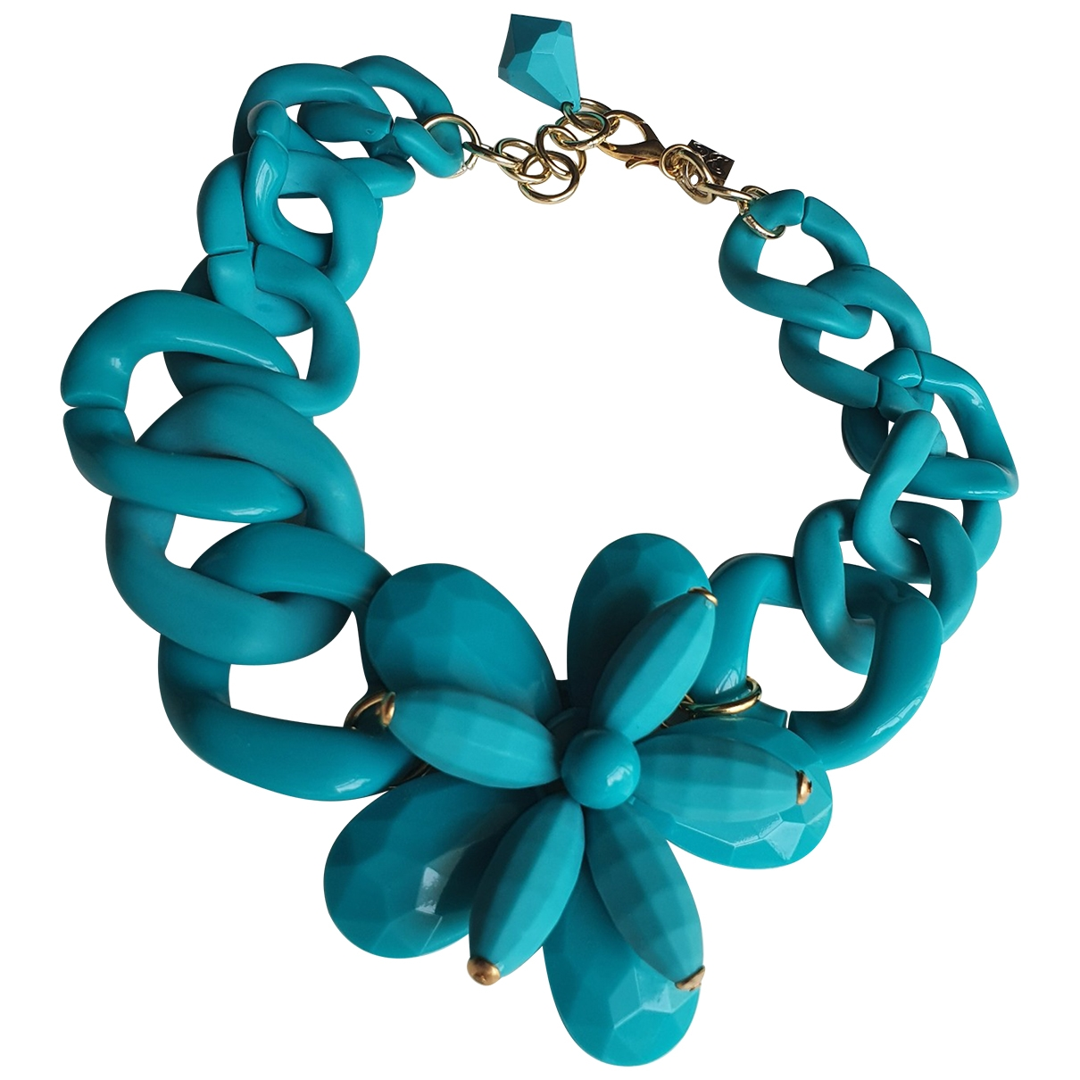 Coccinelle - Collier   pour femme - turquoise