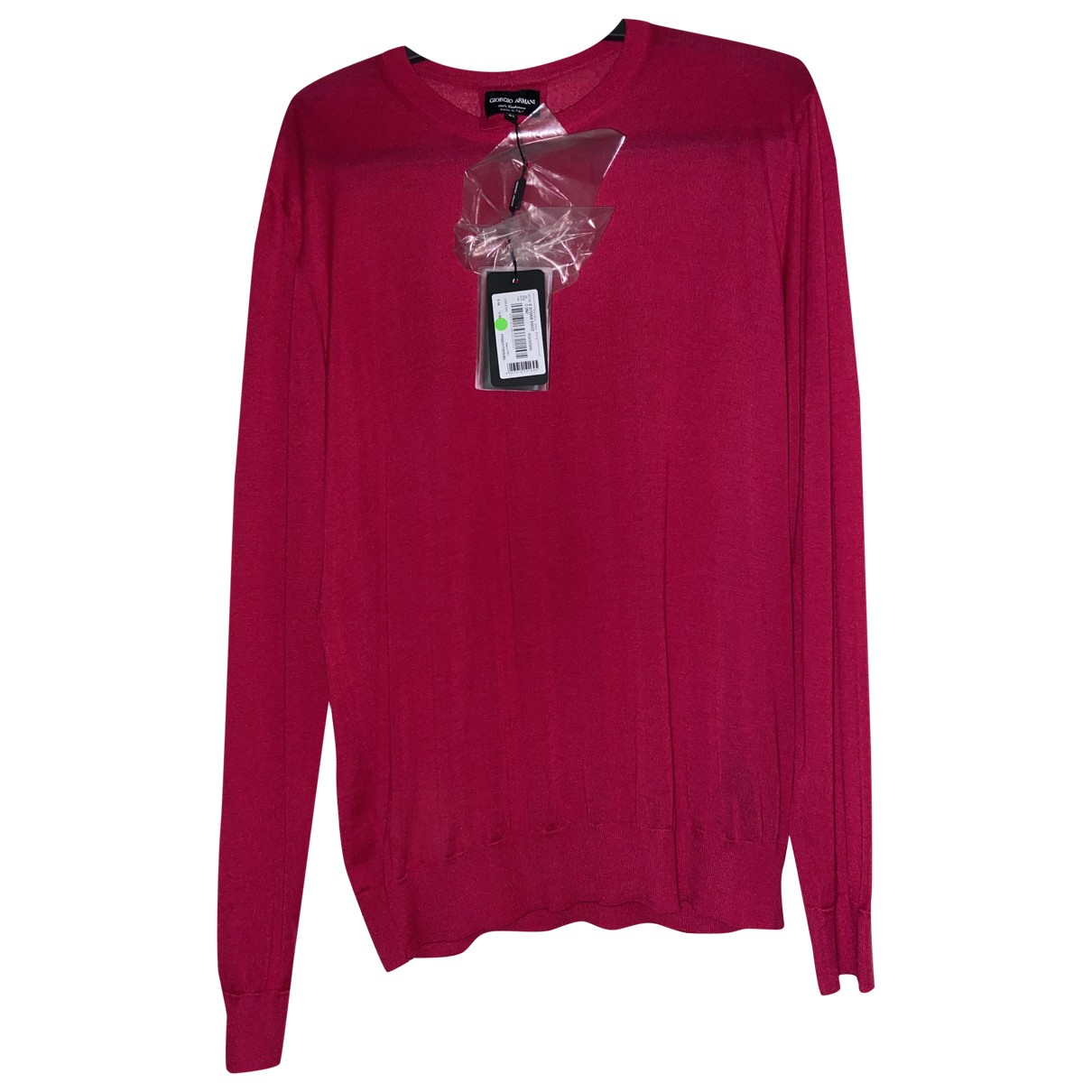 Giorgio Armani \N Pullover.Westen.Sweatshirts  in  Rosa Kaschmir