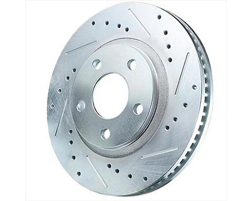 Power Stop AR82132XPR Drilled & Slotted Brake Rotor Front AR82132XPR