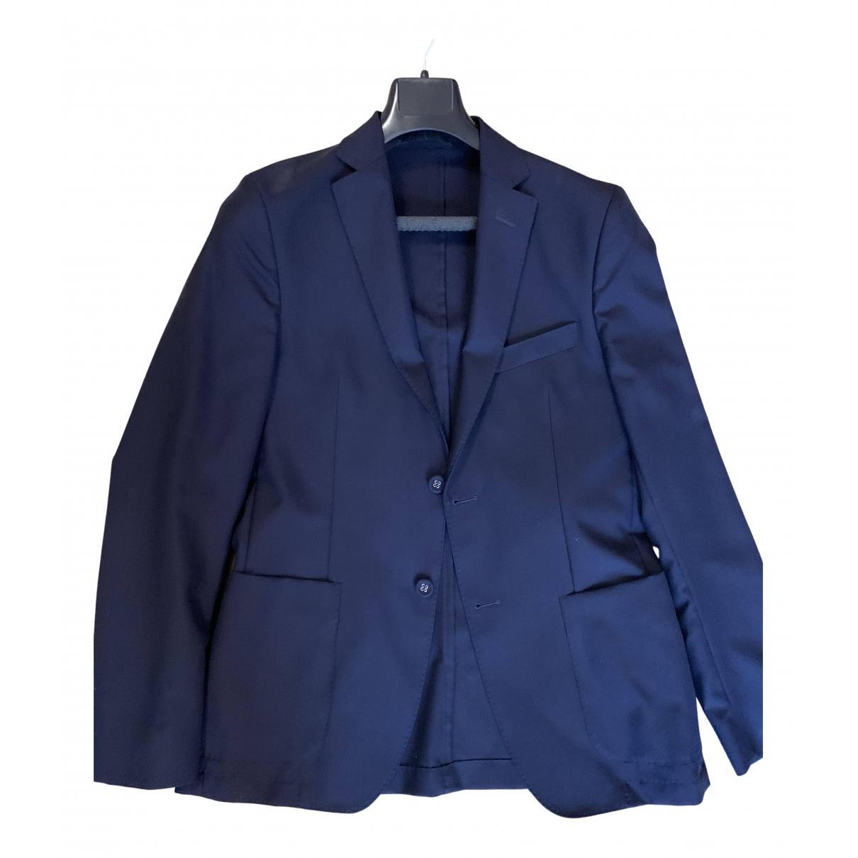 Officine Generale - Vestes.Blousons   pour homme en laine - bleu
