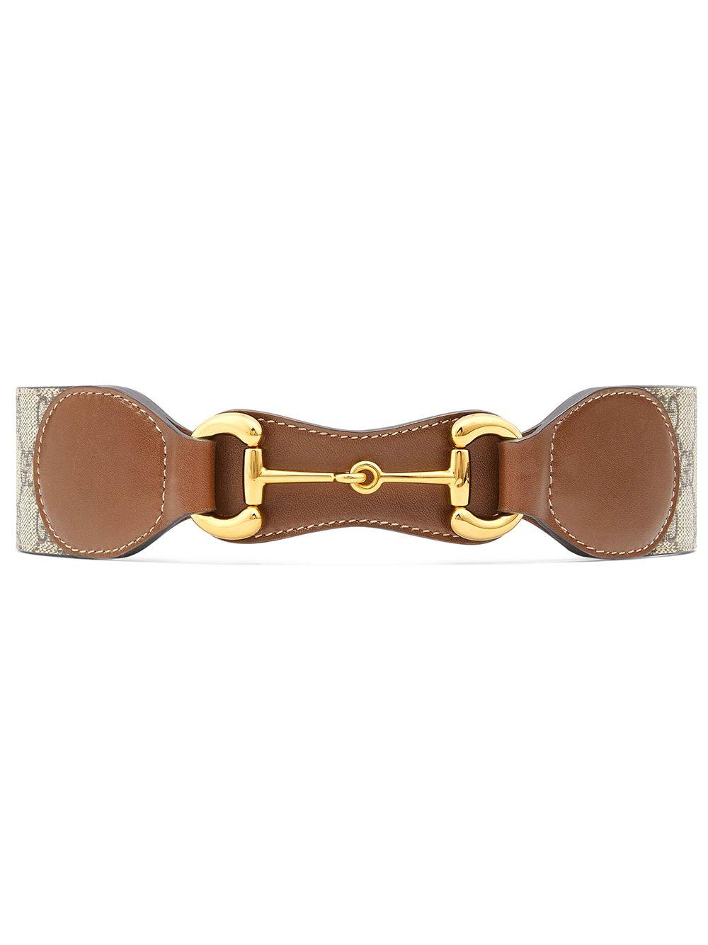 Horsebit Leather Belt