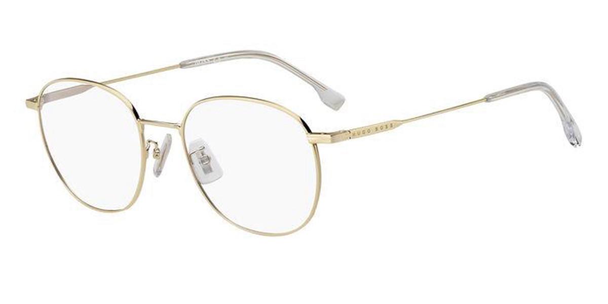 Boss by Hugo Boss Boss 1220/F Asian Fit J5G Men's Glasses Gold Size 53 - Free Lenses - HSA/FSA Insurance - Blue Light Block Available