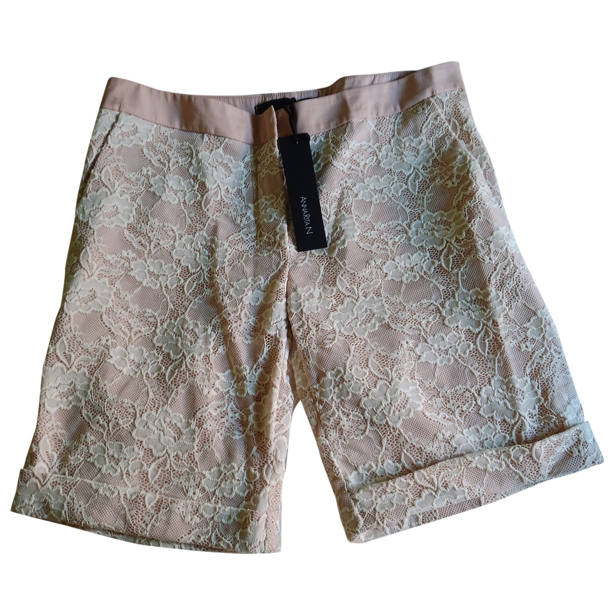 Non Signé / Unsigned \N Pink Shorts for Women 42 IT