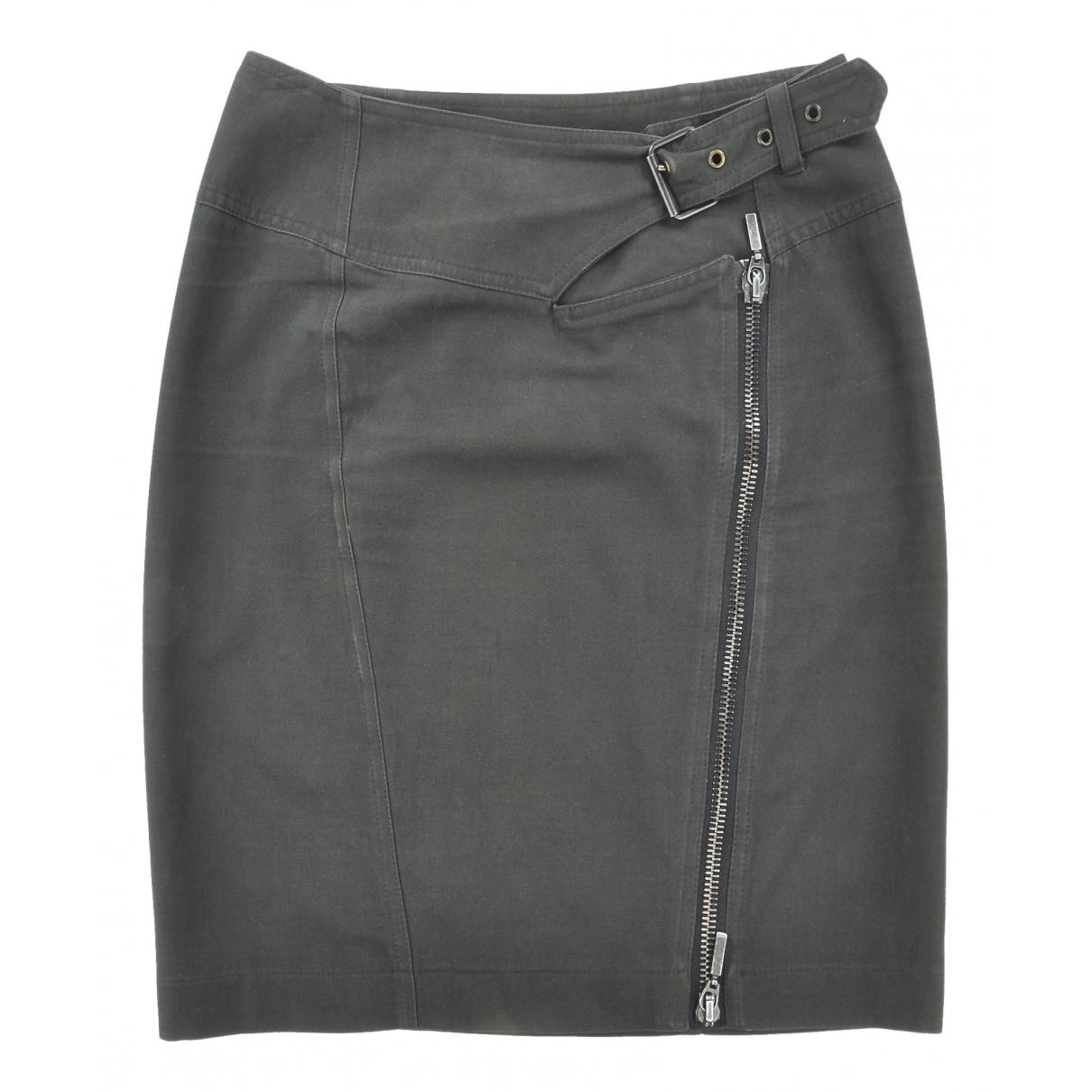Plein Sud - Jupe   pour femme en coton - noir
