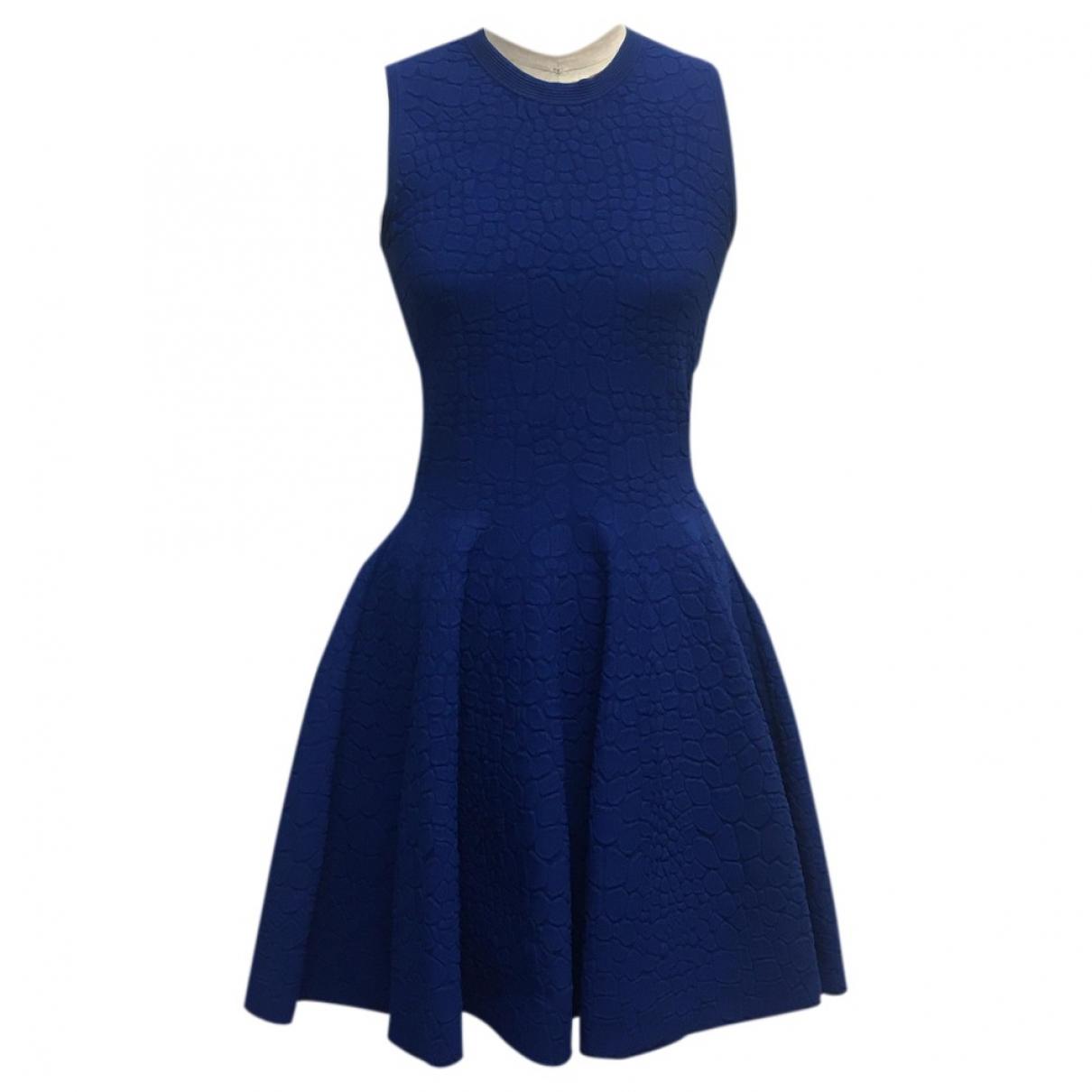 Alexander Mcqueen \N Blue dress for Women M International