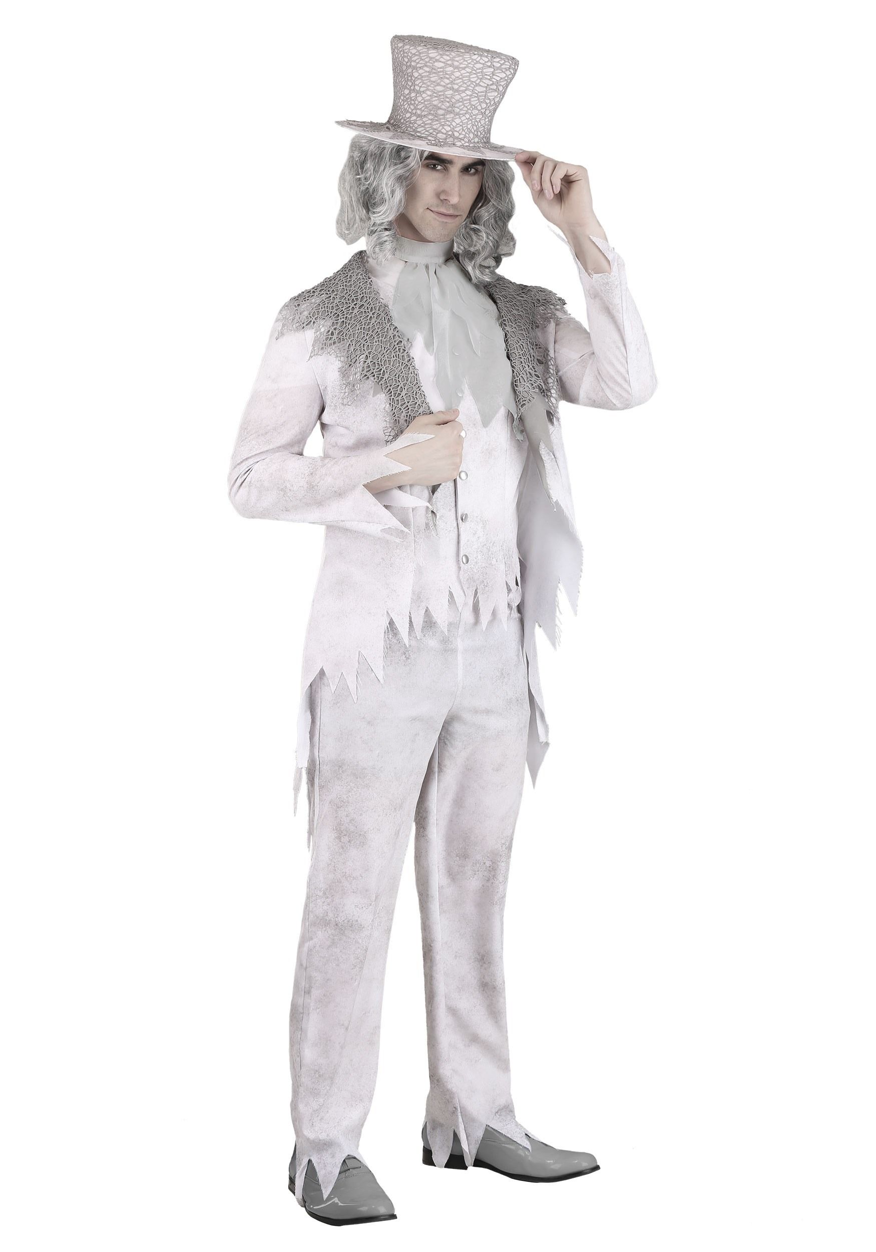 Victorian Ghost Costume for Men