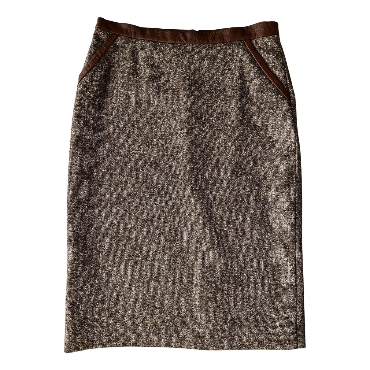 Salvatore Ferragamo N Wool skirt for Women 40 IT