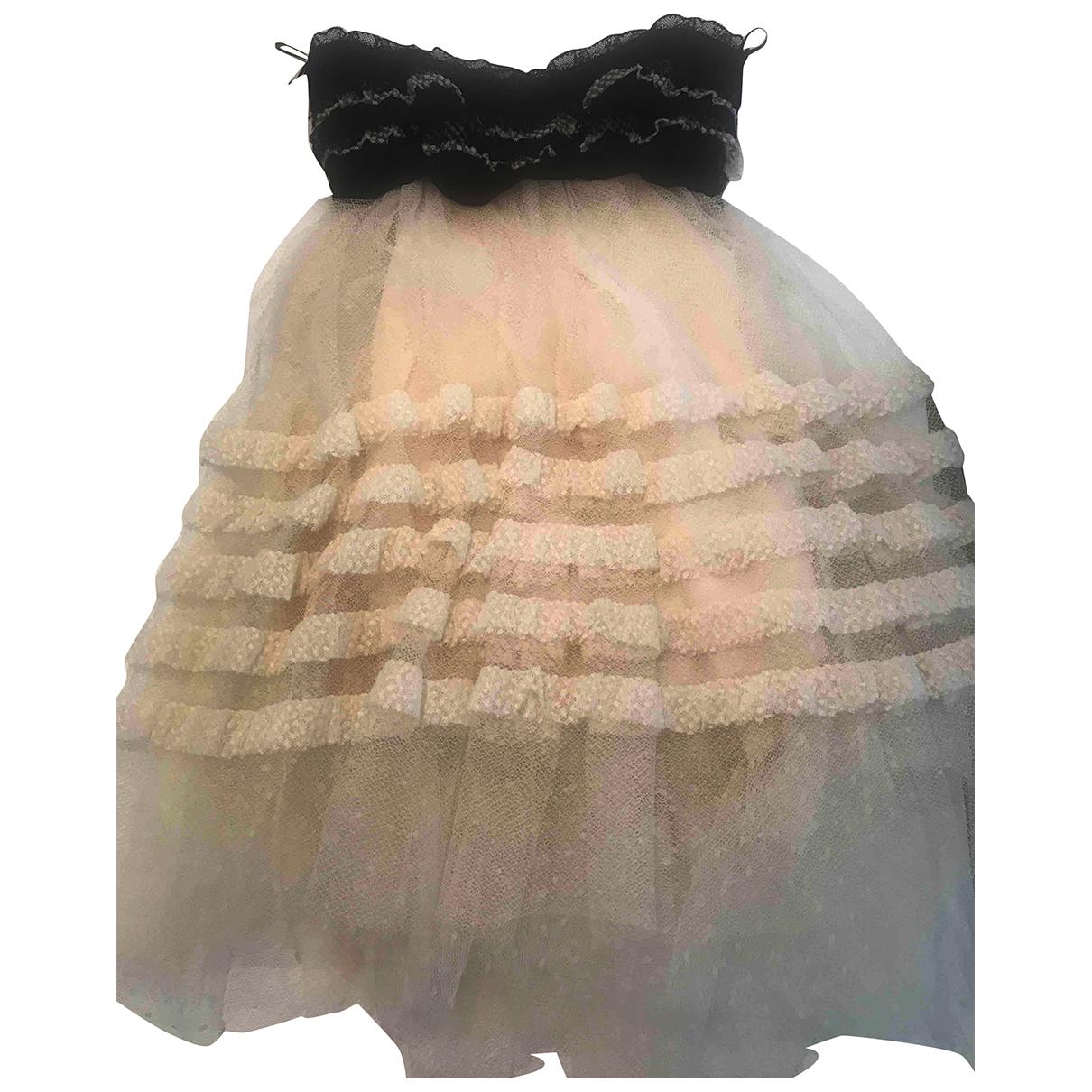 Philosophy Di Lorenzo Serafini - Robe   pour femme en coton - blanc