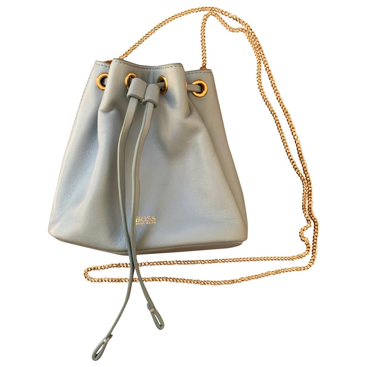 Boss \N Leather handbag for Women \N