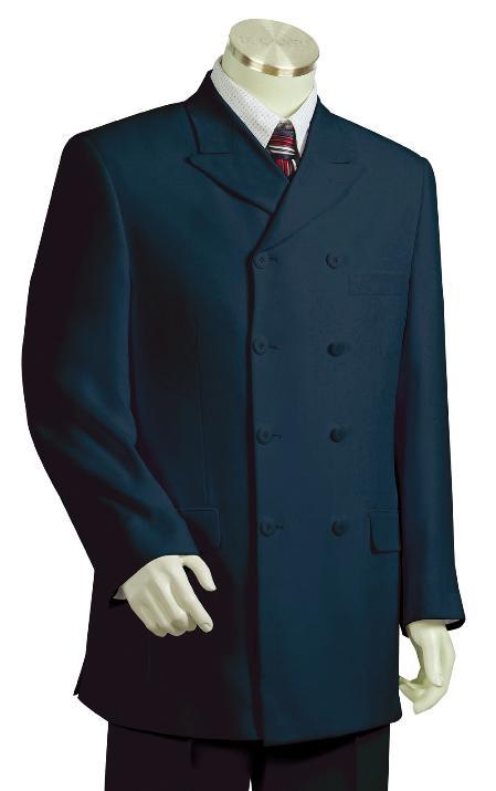 Navy Zoot Suit Mens