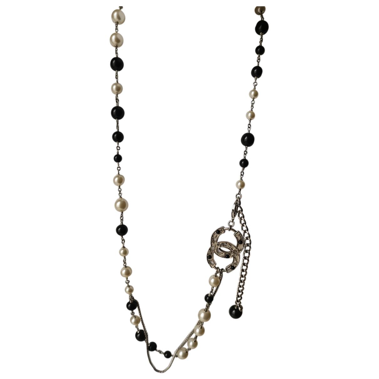 Chanel - Sautoir   pour femme en perle - blanc