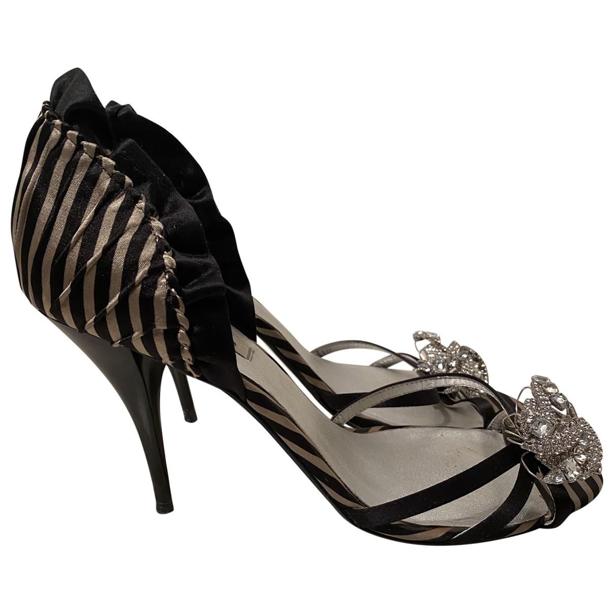 Dune - Escarpins   pour femme en toile - noir
