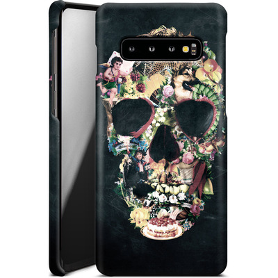 Samsung Galaxy S10 Smartphone Huelle - Vintage Skull von Ali Gulec