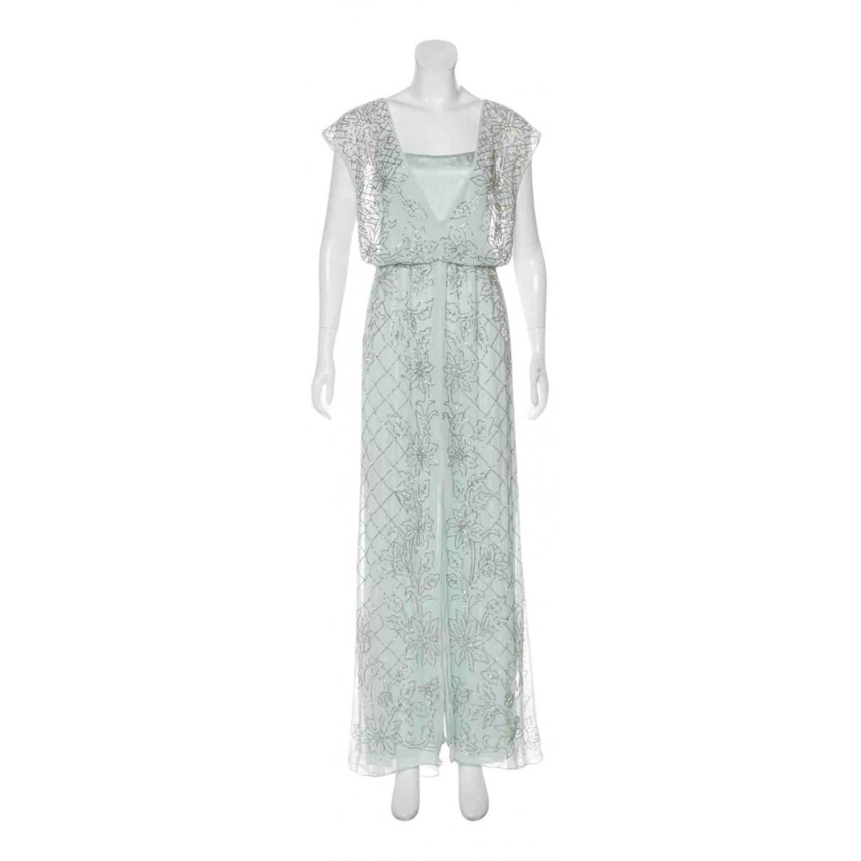 Needle & Thread - Robe   pour femme en soie - bleu