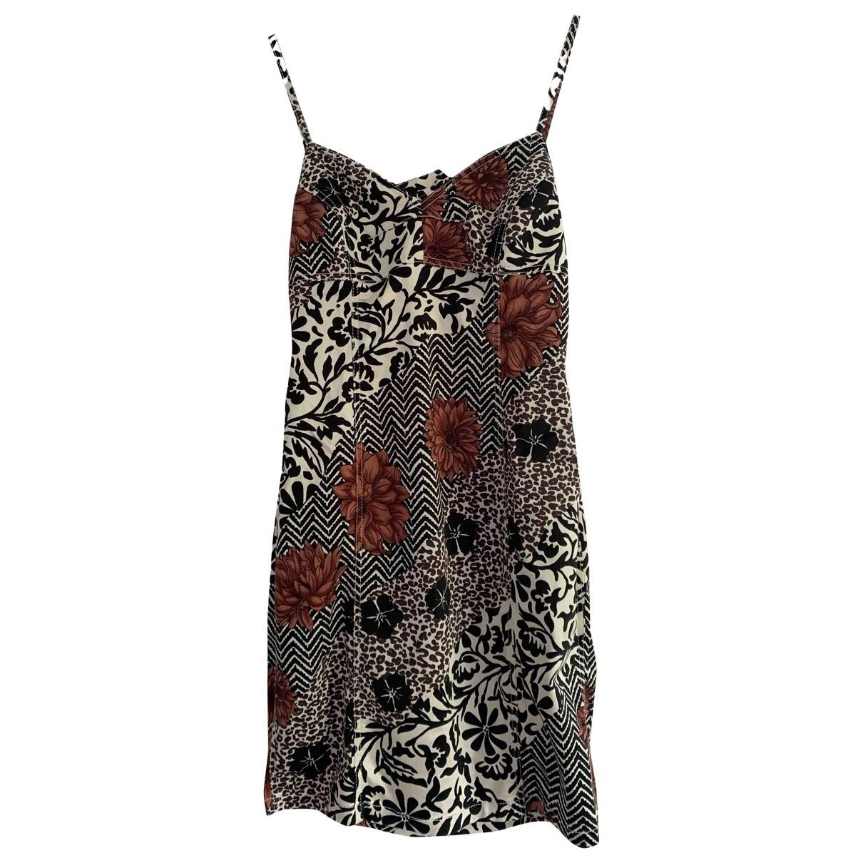 Kenzo \N Kleid in  Bunt Baumwolle - Elasthan