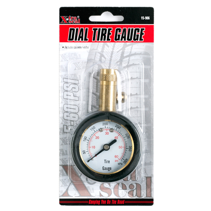 Group 31 Xtra Seal 15-906 - Deluxe Dial Gauge Lg. Bore With Bleeder...