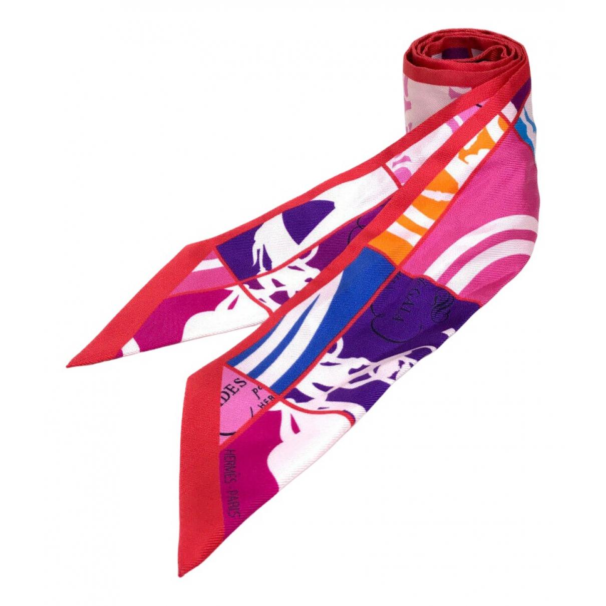 Hermès Twilly 86 Multicolour Silk scarf for Women N