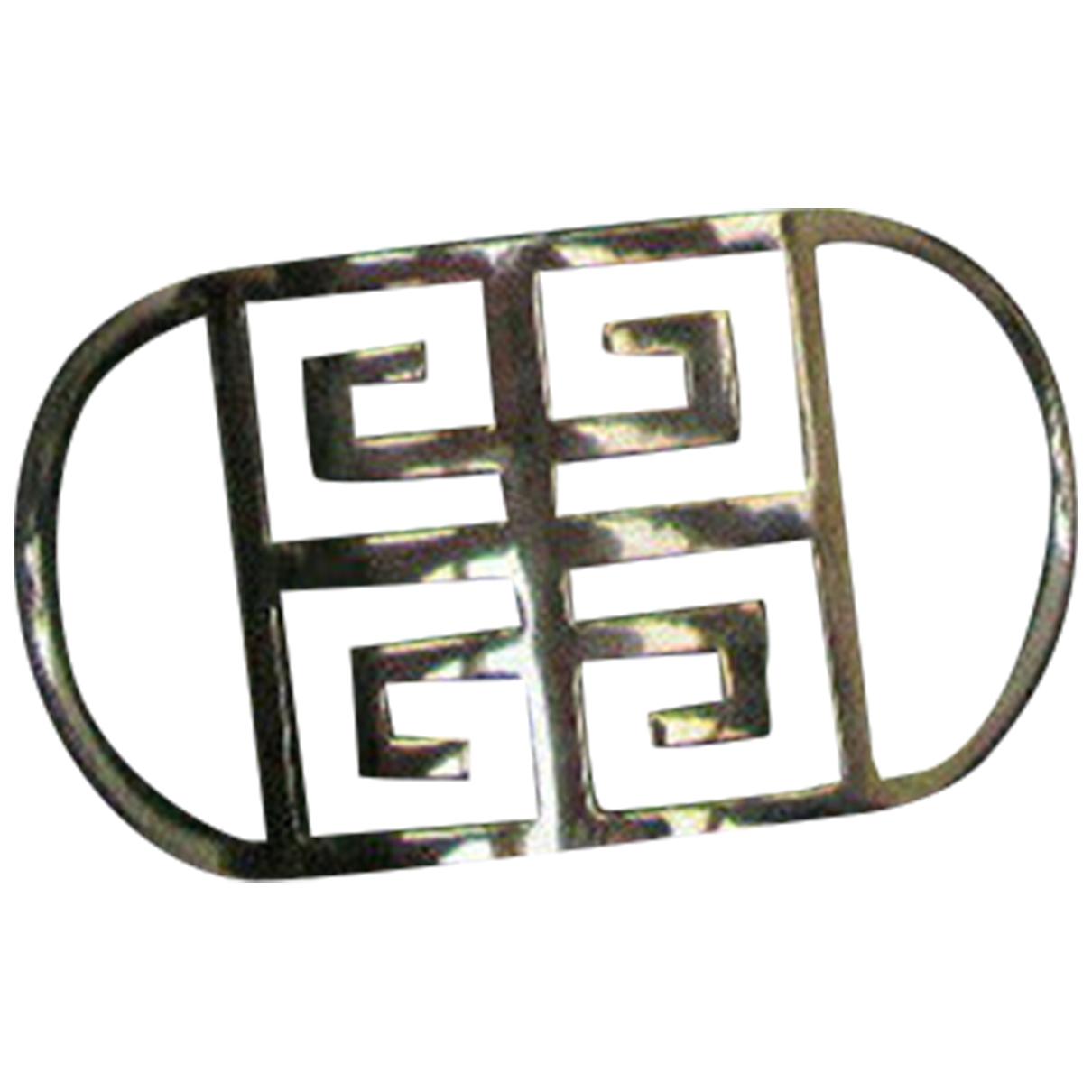 Givenchy - Bague   pour femme en acier - argente