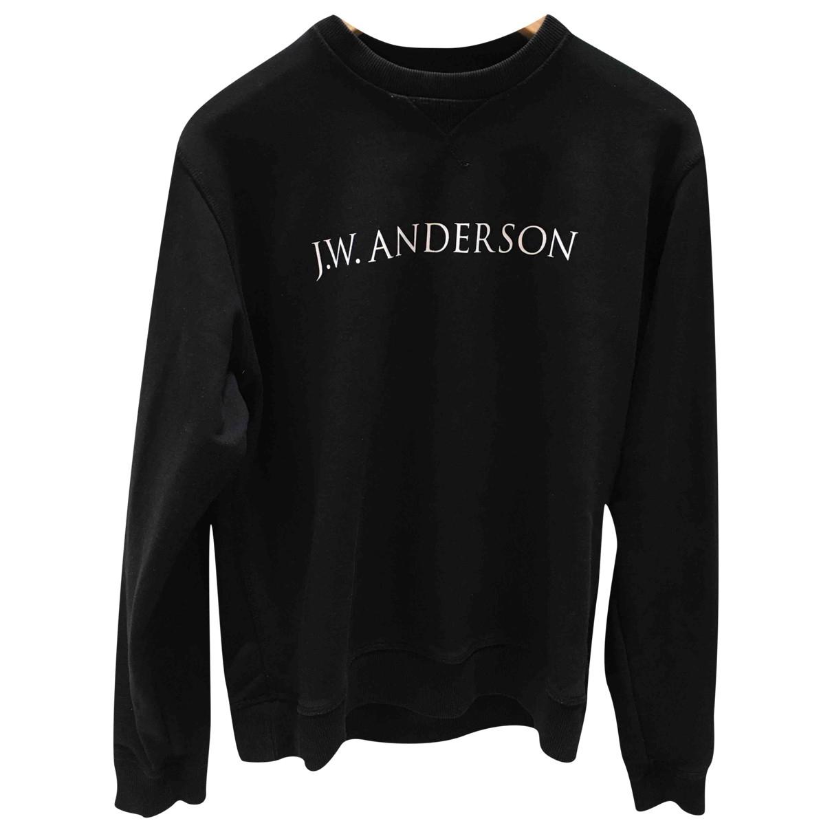 J.w. Anderson \N Pullover.Westen.Sweatshirts  in  Schwarz Baumwolle