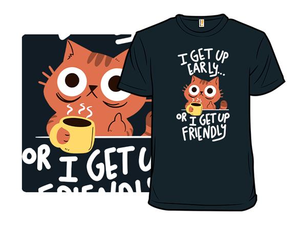 Morning Cat T Shirt