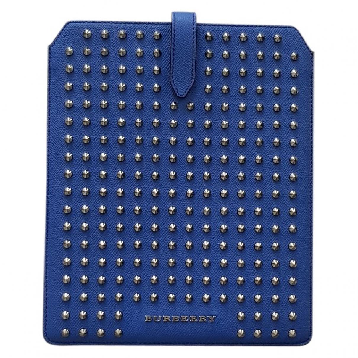 Burberry - Accessoires   pour lifestyle en cuir - bleu