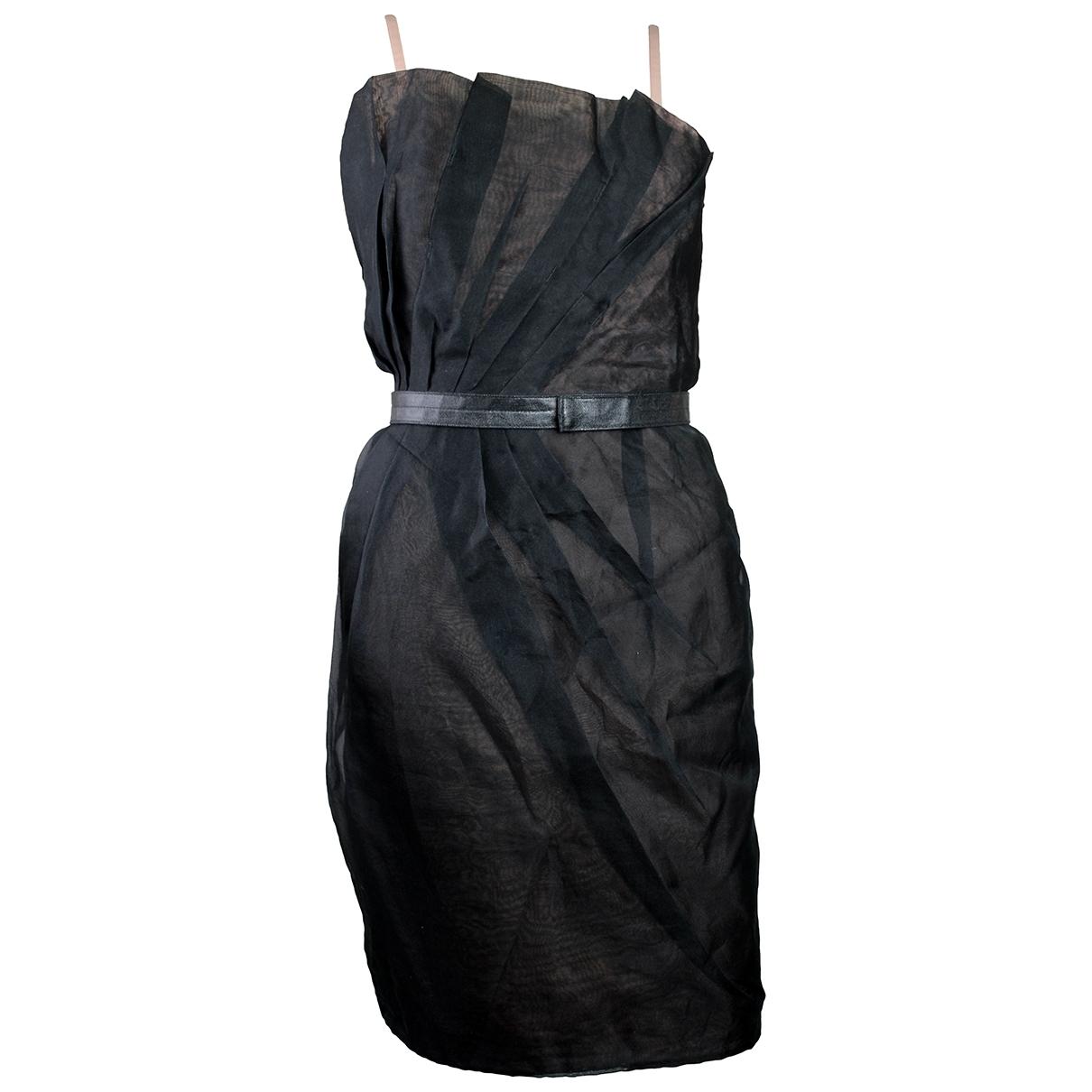 Marc By Marc Jacobs \N Kleid in  Schwarz Seide