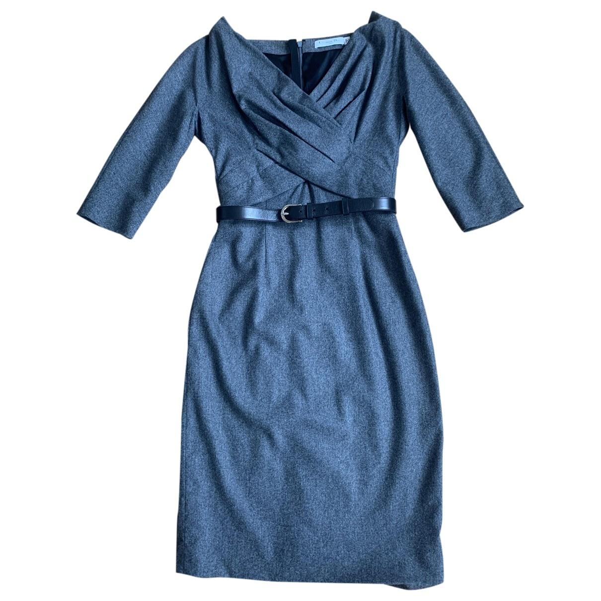 Dior \N Grey Wool dress for Women 38 FR