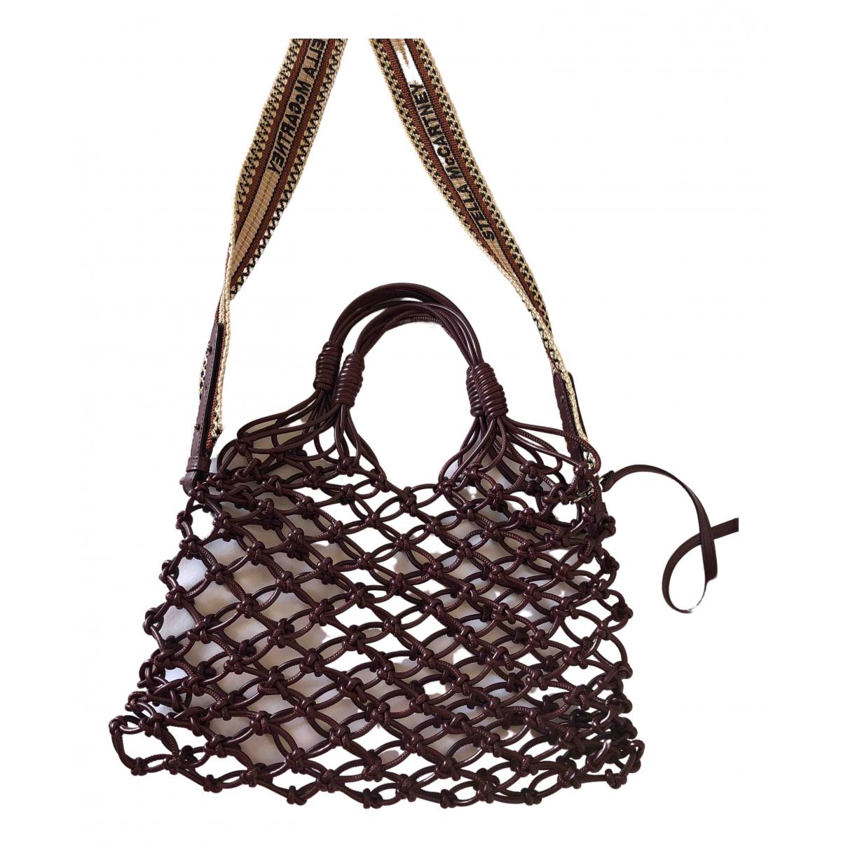 Stella Mccartney \N Burgundy handbag for Women \N