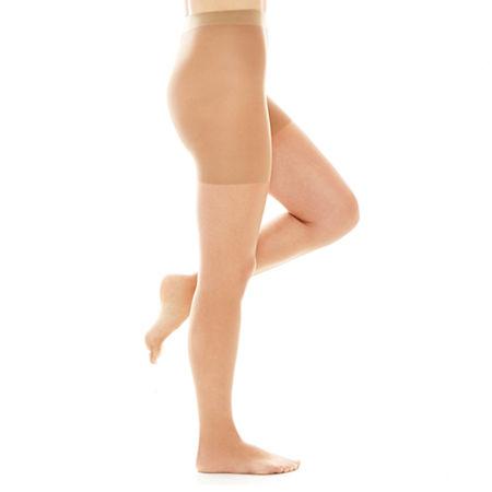 Berkshire Ultra-Sheer Control Top Panty Hose, 2 , Beige