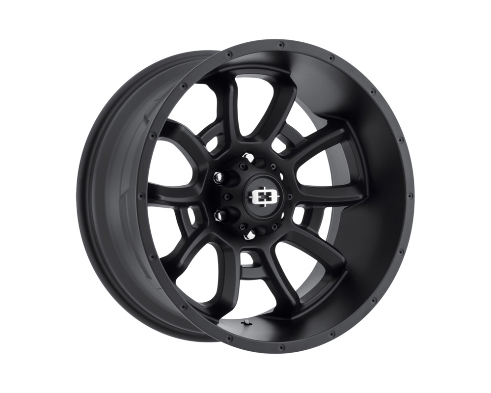 Vision Bomb Satin Black Wheel 20x10 8x170 -25