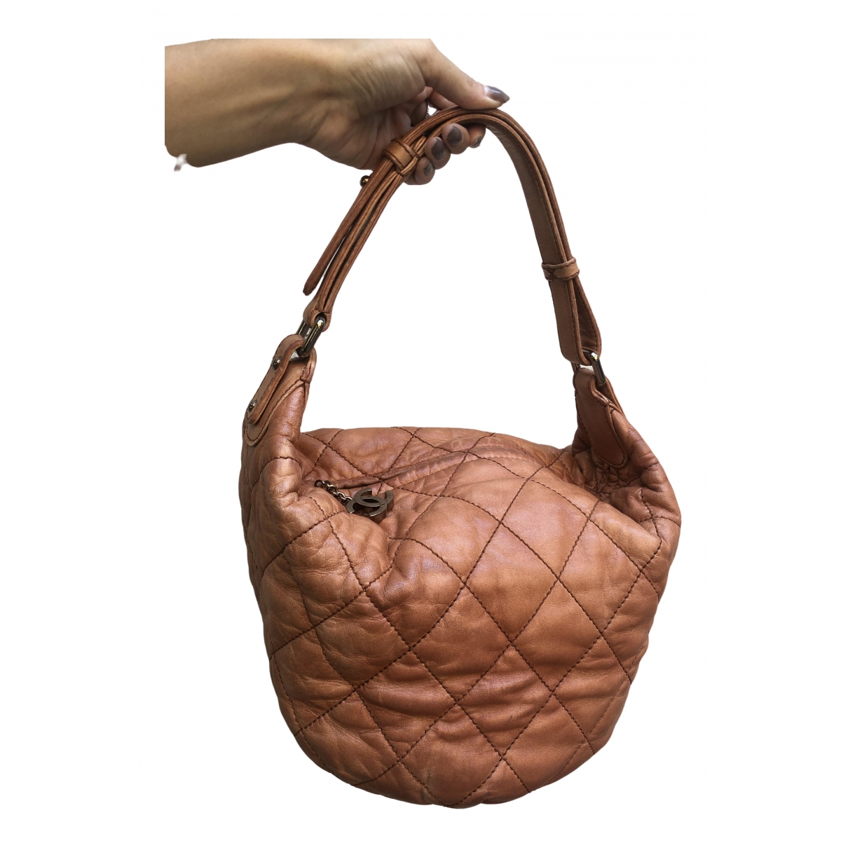 Chanel \N Handtasche in  Kamel Leder