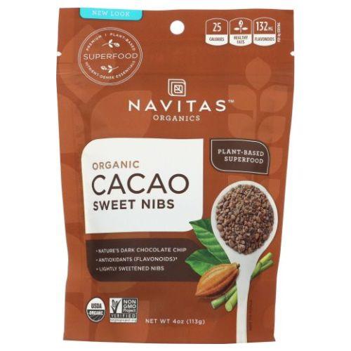 Organic Cacao Powder 4 Oz by Navitas Naturals