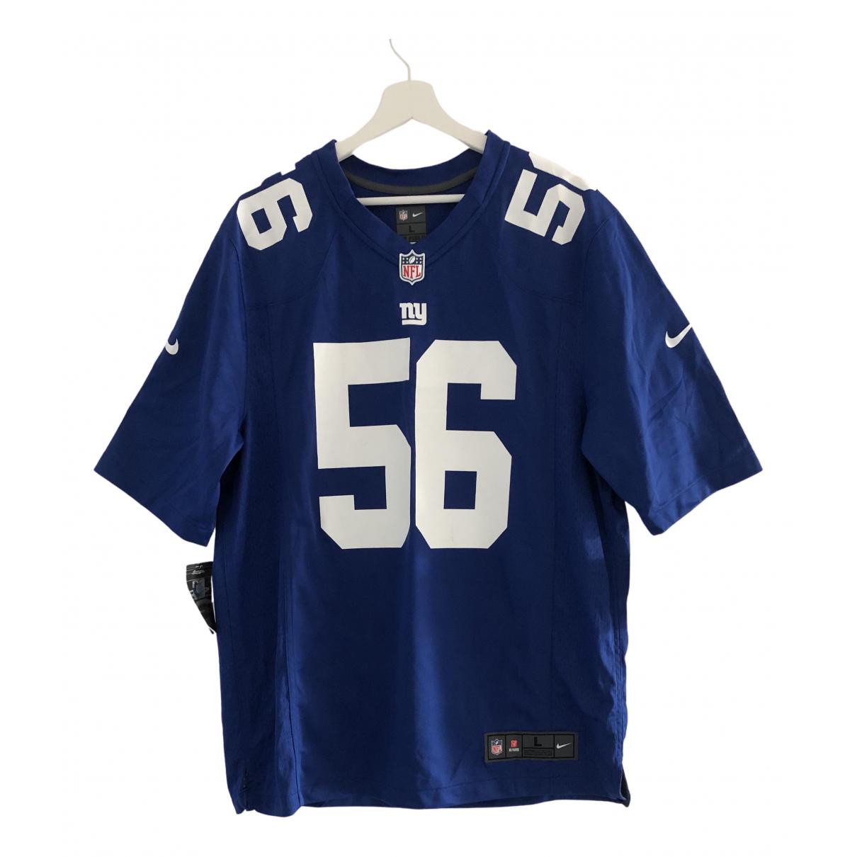Nike \N T-Shirts in  Blau Synthetik