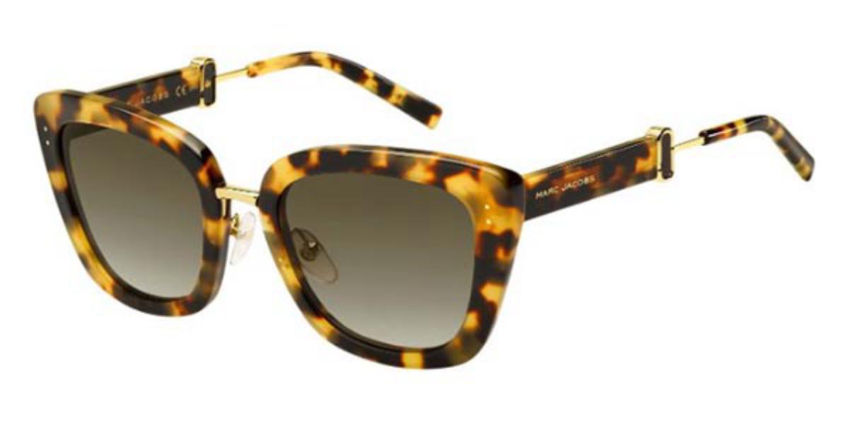 Marc Jacobs MARC 131/S 00F/HA Women's Sunglasses Tortoise Size 53