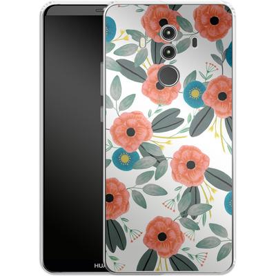 Huawei Mate 10 Pro Silikon Handyhuelle - Poppy Dream von Iisa Monttinen