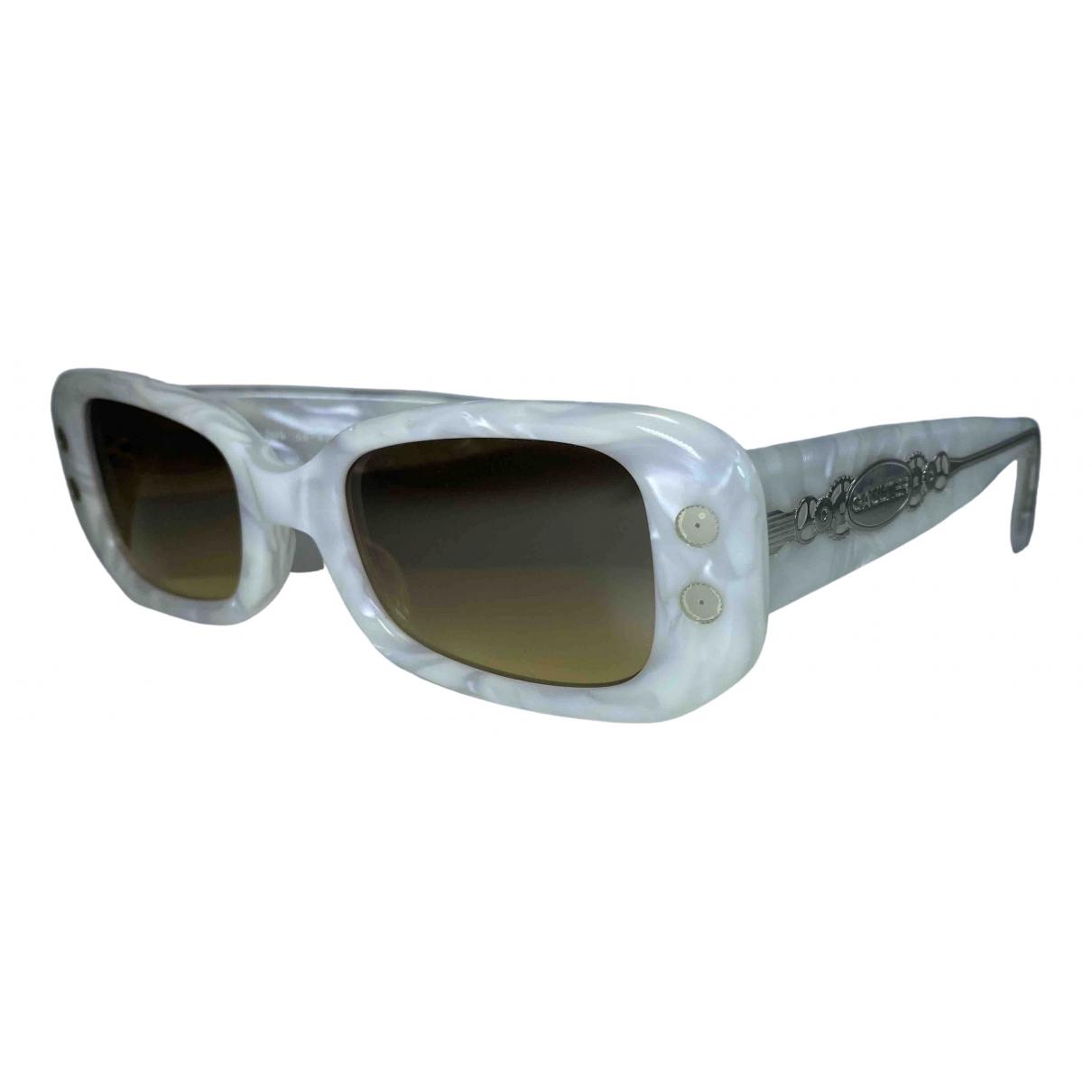 Jean Paul Gaultier \N White Sunglasses for Men \N
