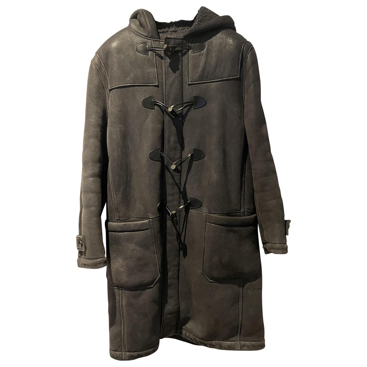 Joseph - Manteau   pour homme en suede - marron