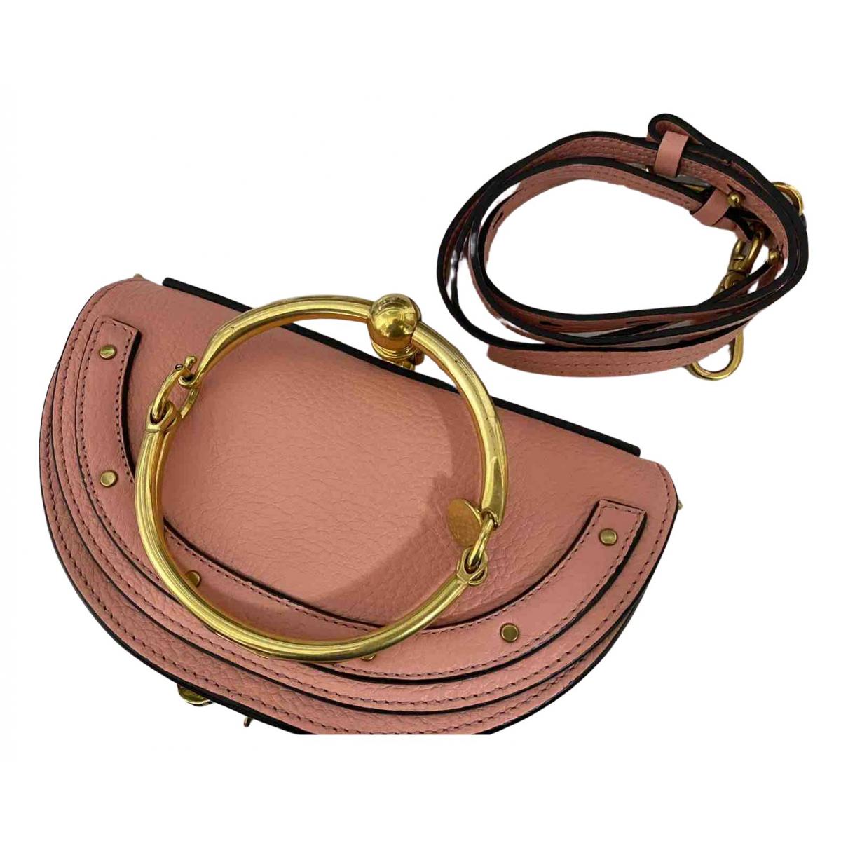 Chloé Bracelet Nile Pink Leather handbag for Women N